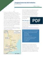 Inland Route Bulletin 01-14 Intercity Rail