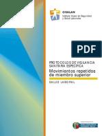 Protocolo Vigilancia Epidemiológica Movimientos Repetitivos