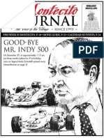 Good-Bye Mr.Indy 500