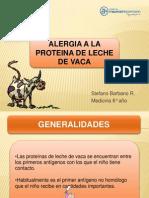 Alergia a La Proteina de Leche de Vaca