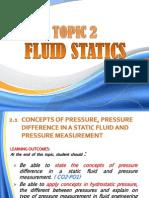 Topic 2_ecw 211-Fluid Statics