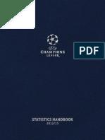 Uefa Champions League Statistic Book