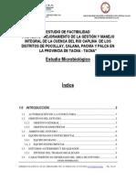 estudio microbiologico