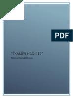 Examen Hcd p12 Monica Mariscal