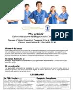 PNL in Sanità Novembre Hotel Casali 2013 3-4 DIC
