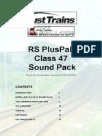 Armstrong PH Class 47 Sounds Manual