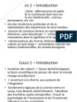 Cours 1 – Introduction