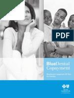 BlueDental Copayment QF Plan Brochure