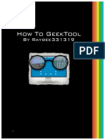How to GeekTool