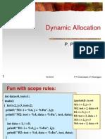 Dynamic Memory Allocation(PPC)