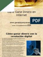 Gane Gane Dinero en Internet