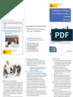 2013 Folleto Informativo Programa 2014 2015