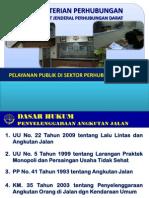 Pelayanan Publik Ditjen Perhubungan Darat
