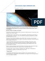 Descoberto Primeiro Buraco Negro Orbitando Uma Estrela
