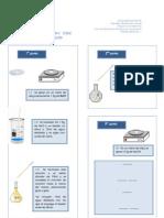 Preinforme de laboratorio de bioquimica No1
