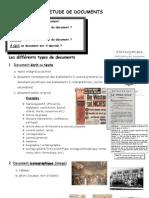 L'étude de documents