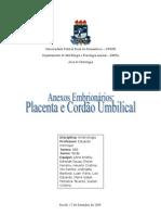 Anexos Embrionários_Placenta e Cordão Umbilical