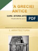 Present. Arta greciei antice-Arhaică