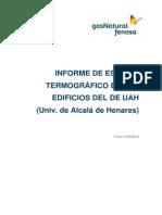 Estudio Termografico Universidad de Alcala