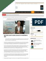 1.15.14 Sweeping Zen Reviews Living the Season by Ji Hyang Padma