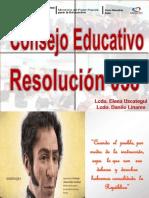 Presentacion de Los Consejos Educativos Listo