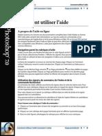 1) Adobe Photoshop 7 (manuel français)