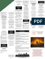 Jan 19, 2014 Worship Folder