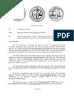 Attorney General Internet Gambling Ban Letter (11/26/2013)