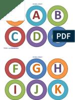 Omiduta Alfabet Color Litere Mari