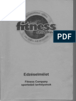 Fitness Company - Edzéselmélet jegyzet