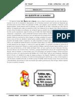 II BIM - LIT - 2do. Año - Guía 6 - Don Quijote de la Mancha