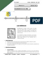 II BIM - LIT - 2do. Año - Guía 3 - Renacimiento en el Perú