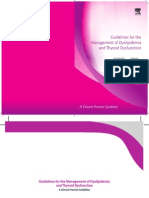 Dyslipidemia and Thyroid Dysfunction Guidelines
