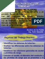 DIMENSIONAMIENTO DE TUBERÍAS