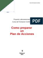 Como Preparar Un Plan de Acciones