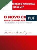 Mocao O Novo Ciclo Antonio Jose Seguro
