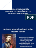 Legislatia Romaneasca in educatia romaneasca