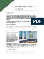 Ecoline Windows Talks Smart Windows