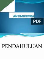 pendahuluan antimikroba