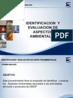 Aspectos Ambientales DMGP Proceso.