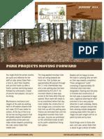 Friends of Lake James State Park Newsletter Jan 2014
