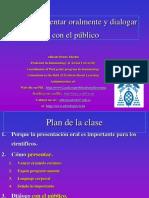 seminario7Comopresentarydialogarconelpublico