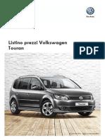 Listino Prezzi Volkswagen Touran