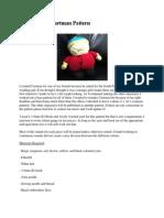 South Park Cartman Amigurumi Pattern