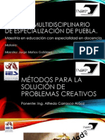 Metodos de solución de problemas creativos