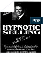 Marshall Sylver Hypnotic Selling Manual