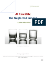 Al Rawatib - The Neglected Sunnah
