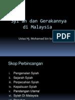 Syi'ah dan Gerakannya di Malaysia