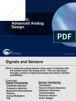 Psoc Module Advanced Analog Design 11
