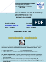 modeloassure-disenoinstruccional-091221164552-phpapp02.ppt